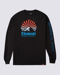 0 Sunray Gradient Long Sleeve T-Shirt Blue ALYZT00177 Element