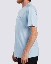 2 Logo Wick UPF 50+ T-Shirt Blue ALYZT00207 Element