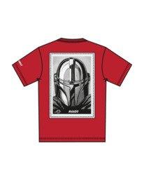 7 Star Wars™ x Element Mando T-Shirt Red ALYZT00258 Element