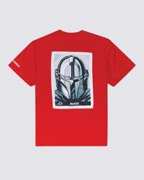 3 Star Wars™ x Element Mando T-Shirt Red ALYZT00258 Element