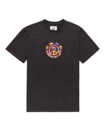 0 Shrooms Tree Short Sleeve T-Shirt Black ALYZT00272 Element