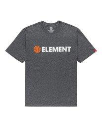 0 Blazin' Short Sleeve T-Shirt Grey ALYZT00276 Element