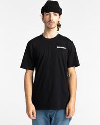 1 Blazin' Chest Short Sleeve T-Shirt Blue ALYZT00277 Element