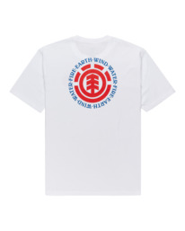 1 Seal Short Sleeve T-Shirt White ALYZT00278 Element