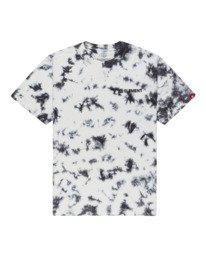 0 Blazin' Chest Tie-Dye Short Sleeve T-Shirt Grey ALYZT00280 Element