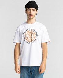 2 Idyl Wild Short Sleeve T-Shirt White ALYZT00281 Element