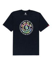 0 Santoro Short Sleeve T-Shirt Blue ALYZT00283 Element
