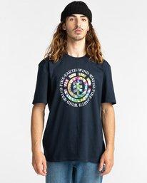 1 Santoro Short Sleeve T-Shirt Blue ALYZT00283 Element