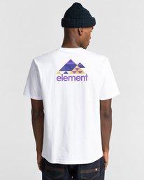 3 Elko Short Sleeve T-Shirt White ALYZT00287 Element