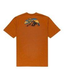 1 Blanton Short Sleeve T-Shirt Brown ALYZT00289 Element