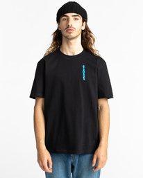 2 Karvel Short Sleeve T-Shirt Blue ALYZT00290 Element