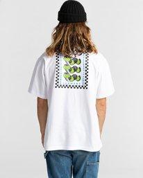 2 Ganzo Short Sleeve T-Shirt White ALYZT00298 Element