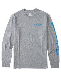 0 Joint Long Sleeve T-Shirt Grey ALYZT00299 Element