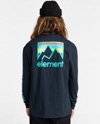 4 Joint Long Sleeve T-Shirt Blue ALYZT00299 Element