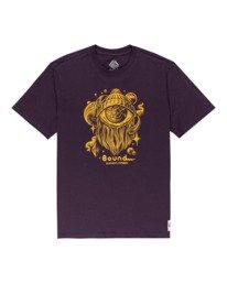 0 A World Apart Short Sleeve T-Shirt Purple ALYZT00311 Element