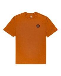 0 Goletta Short Sleeve T-Shirt Brown ALYZT00318 Element