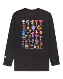 1 Shrooms Guide Long Sleeve T-Shirt Black ALYZT00322 Element