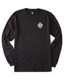 0 Apotho Long Sleeve T-Shirt Blue ALYZT00365 Element
