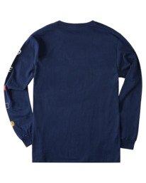 1 Hiro Long Sleeve T-Shirt Blue ALYZT00367 Element