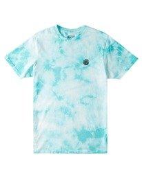 0 Balmor Tie-Dye Short Sleeve T-Shirt Green ALYZT00379 Element