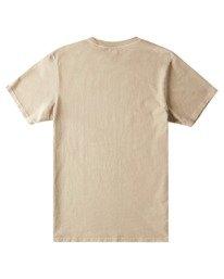 1 Wander Pigment Short Sleeve T-Shirt Grey ALYZT00380 Element