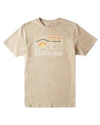0 Wander Pigment Short Sleeve T-Shirt Grey ALYZT00380 Element