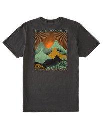 1 Lahotan Pigment Short Sleeve T-Shirt Blue ALYZT00382 Element