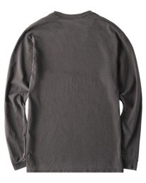 1 Sego Pigment Long Sleeve T-Shirt Blue ALYZT00384 Element