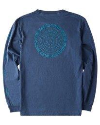 1 Exley Pigment Long Sleeve T-Shirt Blue ALYZT00386 Element