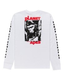 1 Planet of the Apes Surge Long Sleeve T-Shirt White ALYZT00387 Element