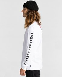3 Planet of the Apes Surge Long Sleeve T-Shirt White ALYZT00387 Element