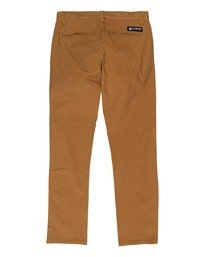 1 Boys' Howland Classic Chino Pants Brown B3161EHP Element