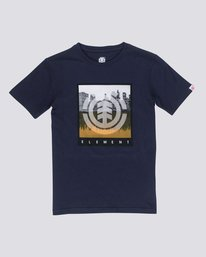 0 Boys Reflective T-Shirt  B400NERE Element