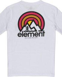 3 Boys' Sonata T-Shirt White B4012ESO Element