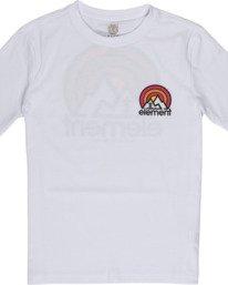 2 Boys' Sonata T-Shirt White B4012ESO Element