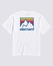 0 Boys' Joint T-Shirt White B4013EJO Element