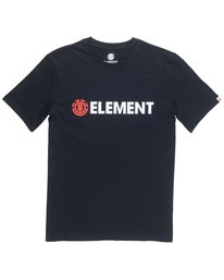 0 Boy's Blazin' Tee Black B401QEBZ Element