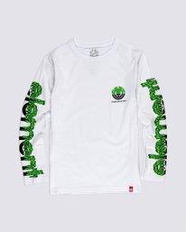 0 Boys' Proton Combo Long Sleeve T-Shirt White B4753EPB Element