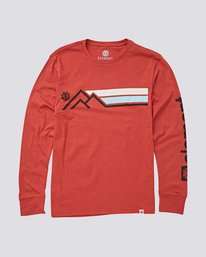 0 Sierra Boys Long Sleeve Tee  B475UESI Element