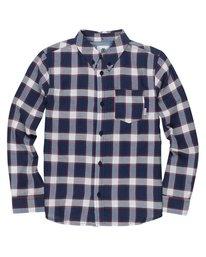 0 Boy's Glasgow Long Sleeve Shirt Purple B552SEGL Element