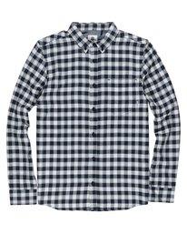 0 Boy's Goodwin Long Sleeve Shirt Black B554QEGO Element