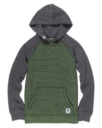 0 Boy's Meridian Block Pullover Hoodie  B635QEBH Element