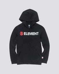 0 Blazin Zip Boys Hoodie  B637QEBZ Element