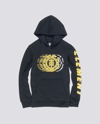 0 Boy's Victory Hoodie Black B651VEVI Element