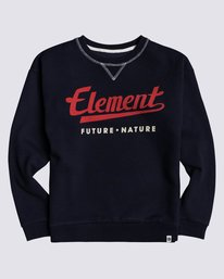 0 Boys' Go Up Pullover Blue B6823EGO Element