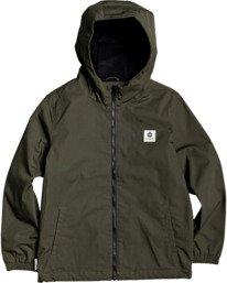 1 Boys' Alder Jacket Green B7163EAL Element
