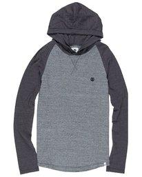 0 Boy's Swift Long Sleeve Tee Grey B952QESW Element
