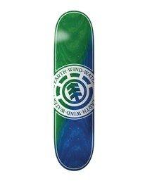 0 Seal Green Blue Skateboard Deck Multicolor BDLG3RGB Element