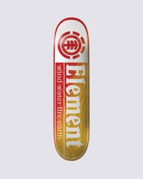0 Section Yellow Red Skateboard Deck Multicolor BDLG3RYR Element