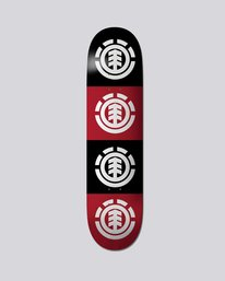 0 Quadrant Skateboard Deck Multicolor BDLGMQAD Element